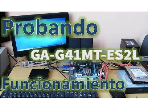 Motherboard Gigabyte GA-G41MT-ES2L Procesador Core 2 Quad Q9550 Ram DDR3 8GB 1333mhz Windows 10