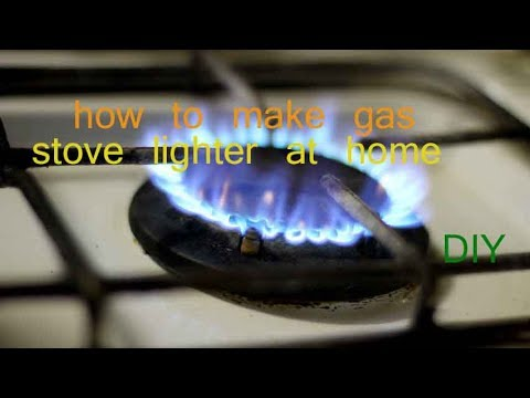 How to make gas stove lighter at home | Diy
