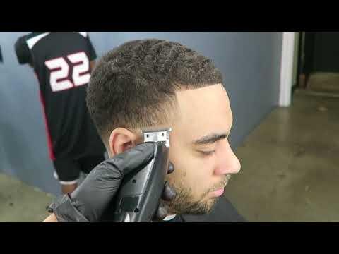 HAIRCUT TUTORIAL: High Taper Fade by Zay The Barber TRB Mixtape Vol 2