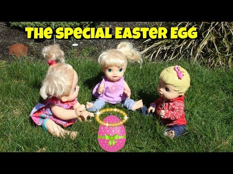 Baby Alive finds a weird easter egg