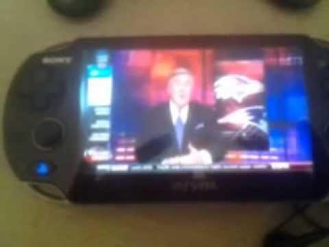 Live TV streaming on Ps Vita!