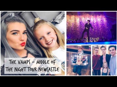 The Vamps MOTN Tour Newcastle 01.05.17/ New Songs | LoveFings