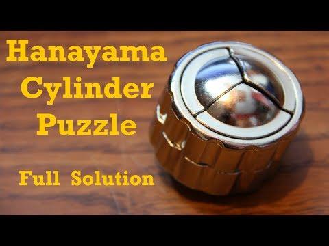 Hanayama Cylinder Puzzle