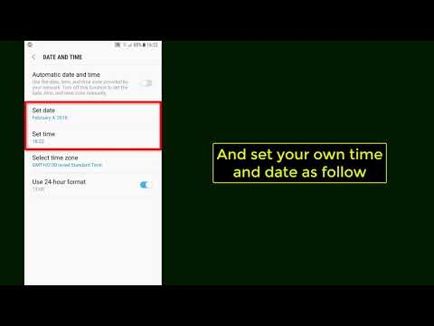 How to change the time and date on Android - Tutorial (2018)