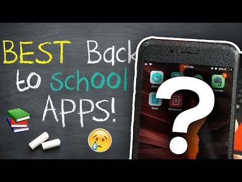 MUST HAVE BACK TO SCHOOL APPS 2017 (iOS & Android)