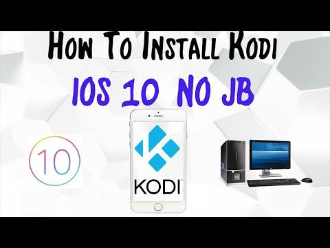 How To Install Kodi IOS 7-10 NO JAILBREAK