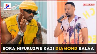 B DOZEN Akubali KUFUKUZWA Kazi CLOUDS kisa DIAMOND/ Ammwagia SIFA LIVE REDIONI