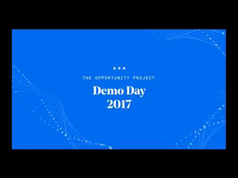 The Opportunity Project Demo Day, Nov. 29, 2017