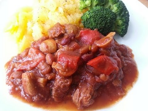 Beef and Mix Bean Casserole