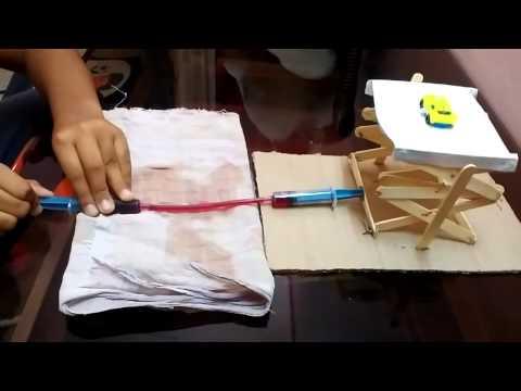 A project on hydraulic jack by ayush pandey  and diwakar reddy