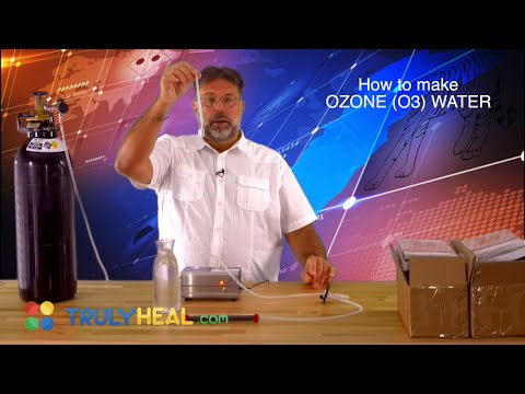 How To Make OZONE (O3) Water at Home! - OZONE@HOME