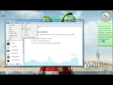 How to remove Skype from taskbar !! EASY !!