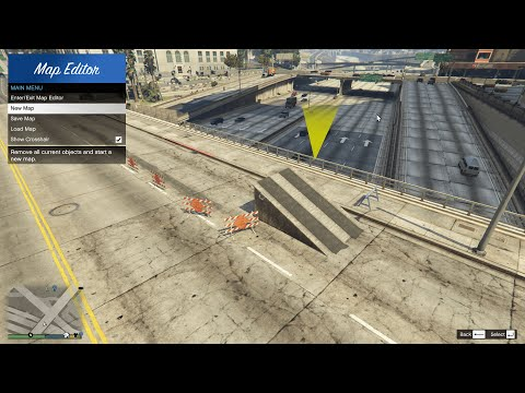 GTA V - Map Editor [Mod Showcase]