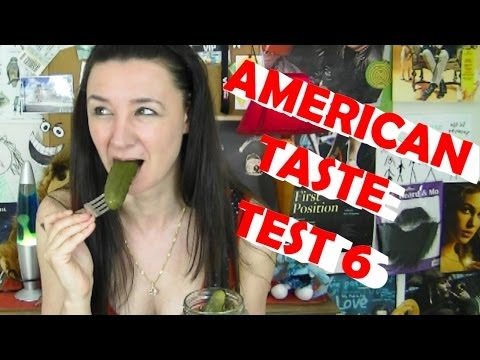 American Food Taste Test 6 - In a Pickle with a Twinkie