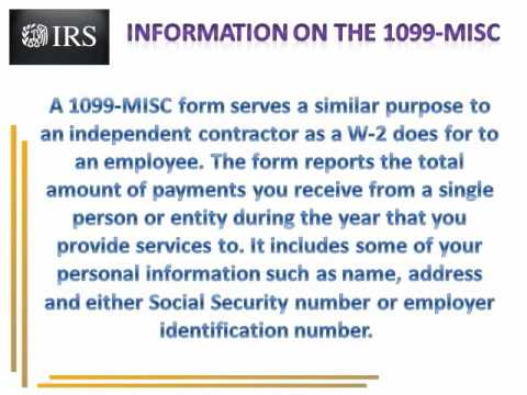 IRS Tax Form 1099 Misc | Form 1099 Misc Instructions Online