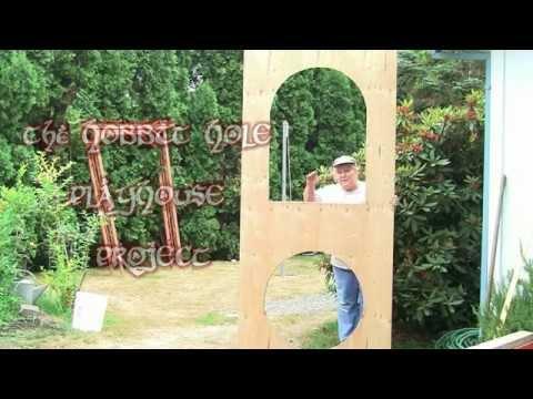 Hobbit Hole Playhouse Part 2 of 5: Framing and Walls