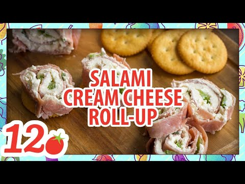 How To Make: Salami Cream Cheese Roll-Ups