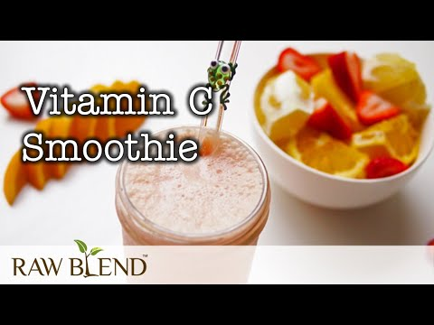 How to Make a Smoothie (Vitamin C Recipe) in a Vitamix Pro 750 Blender