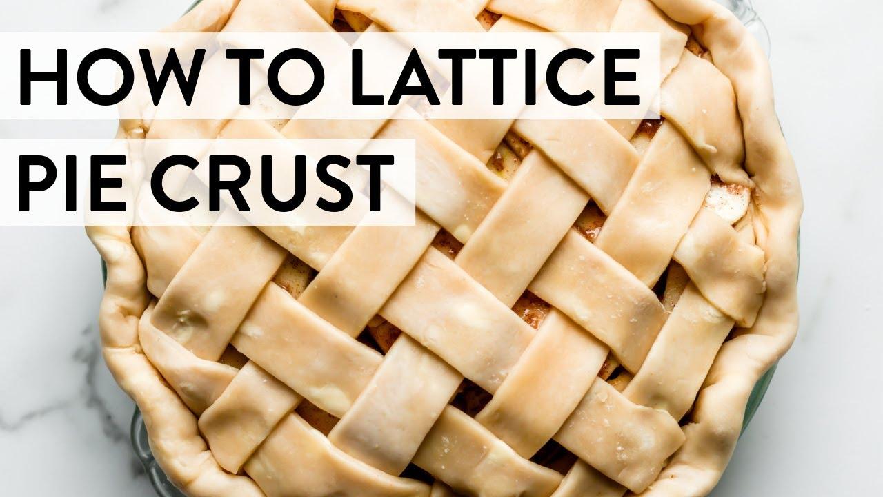 How to Lattice Pie Crust   Sally's Baking Addiction