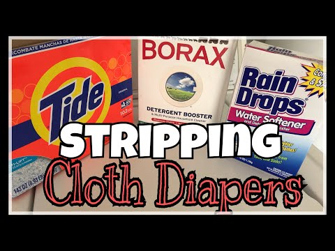 How to Strip and Sanitize Cloth Diapers