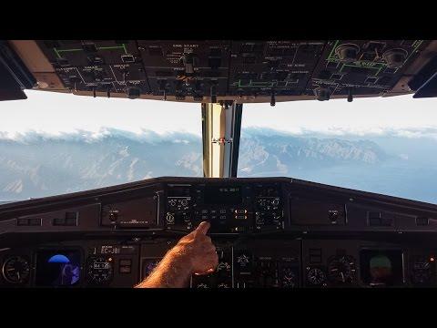 [COCKPIT] Binter Canarias - ATR72 || El Hierro - Tenerife North!