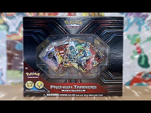 Premium Trainer's XY Collection (Largest Pokemon TCG product ever)