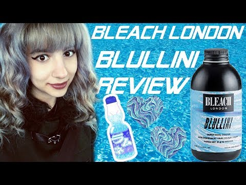 Kawaii Harajuku Blue Hair Tutorial | Bleach London Blullini Super Cool Colour Review and Demo