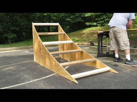 Building a BMX Ramp (How To & Vlog)