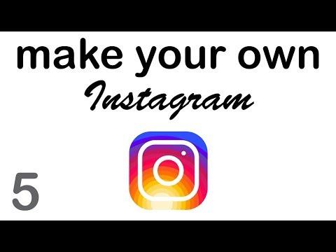 Make your Own Instagram - Uploading Photos (5/10)