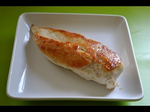 How To Cook AND PERFECT AND JUICY Chicken Breast EVERY TIME