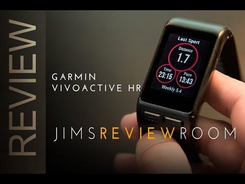 Garmin Vivoactive HR - HEART TESTS + REVIEW