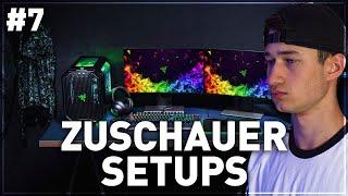 Die BESTEN Gaming Setups von meinen ZUSCHAUERN! (Teil 7)