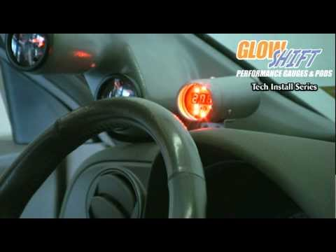 GlowShift Digital Tachometer with Programmable Shift Light