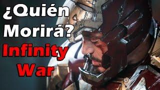 ¿Qué personajes morirán en Infinity War?