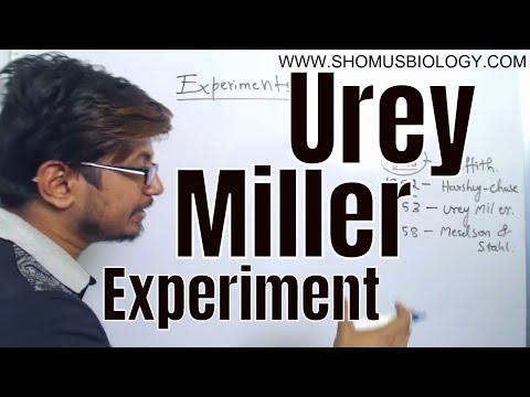 Urey Miller experiment