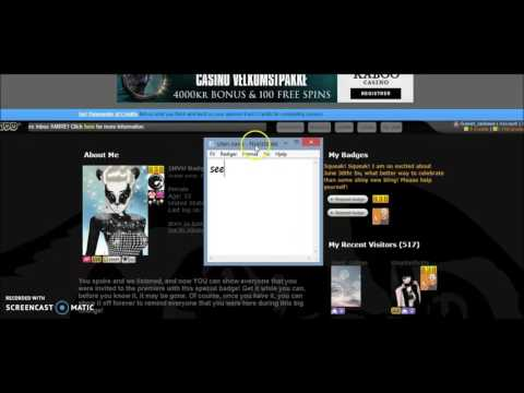 how to get free badges on imvu