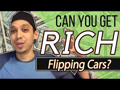 Can YOU Get RICH Flipping Cars for Profit?