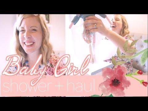 Baby Girl Shower & HAUL with a Nursery Sneak Peek! | steffiethischapter
