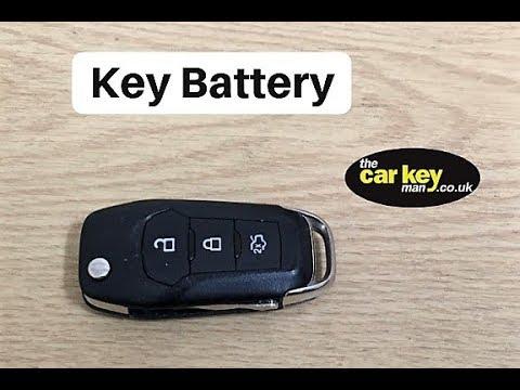Ford Mondeo Flip Key 2015 onwards Key Battery Change