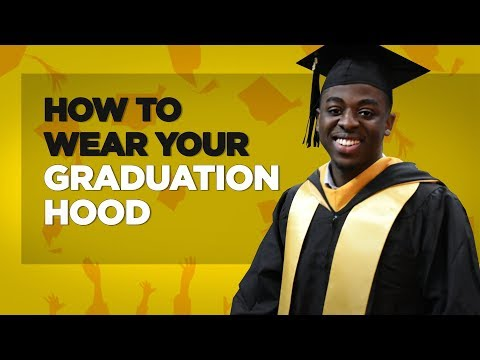 How To Wear Graduation Hood