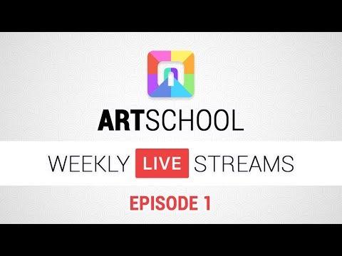ART School - Weekly Stream Episode 1
