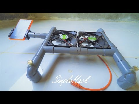 How to Make Cooling Pad for Laptop   SimpleHack #01