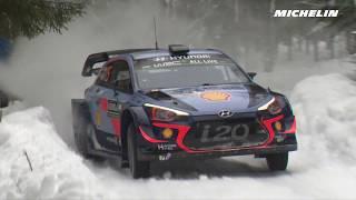 Leg 1 - Top moments - 2018 WRC Rally Sweden - Michelin Motorsport