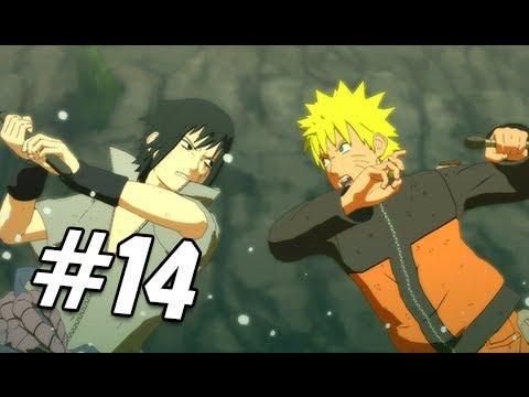 Naruto Shippuden Ultimate Ninja Storm 3 Walkthrough - Part 14 Naruto vs. Sasuke Gameplay
