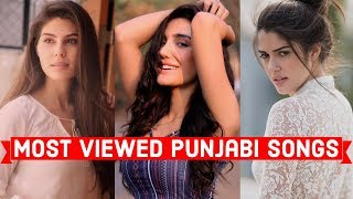 Top 25 Most Viewed Punjabi Songs On YouTube Of All Time