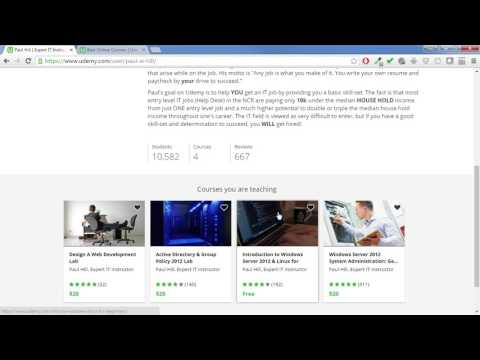 Udemy Course Creation - Instructor Introduction   ITflee.com