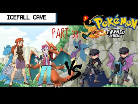 Pokemon Fire Red #33 ICEFALL Cave drama
