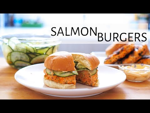 How to Make Salmon Burgers
