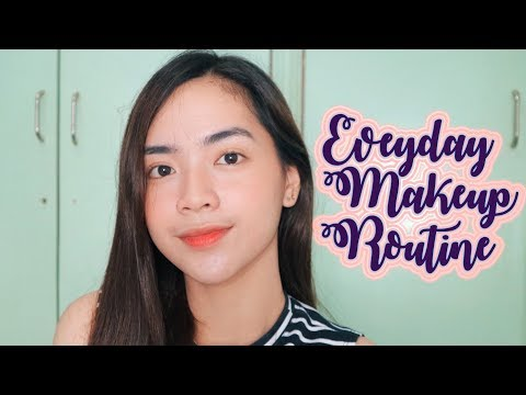 Everyday Makeup Routine 2017   Philippines