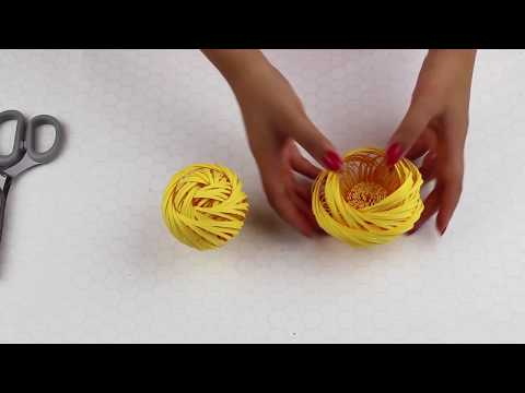 DIY Paper  Flower Center #6